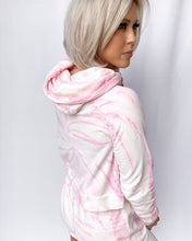 Load image into Gallery viewer, STRAWBERRY DREAMS TIE DYE LOUNGE HOODIE