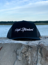 Load image into Gallery viewer, HIGH STANDARD SNAPBACK - BLACK SCRIPT