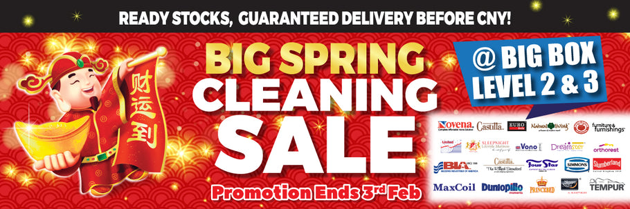 BIG Spring Cleaning Sale @ BIGBOX L2 & L3