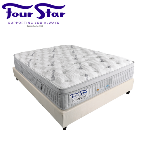 CAMELOT Queen Mattress with Bedframe