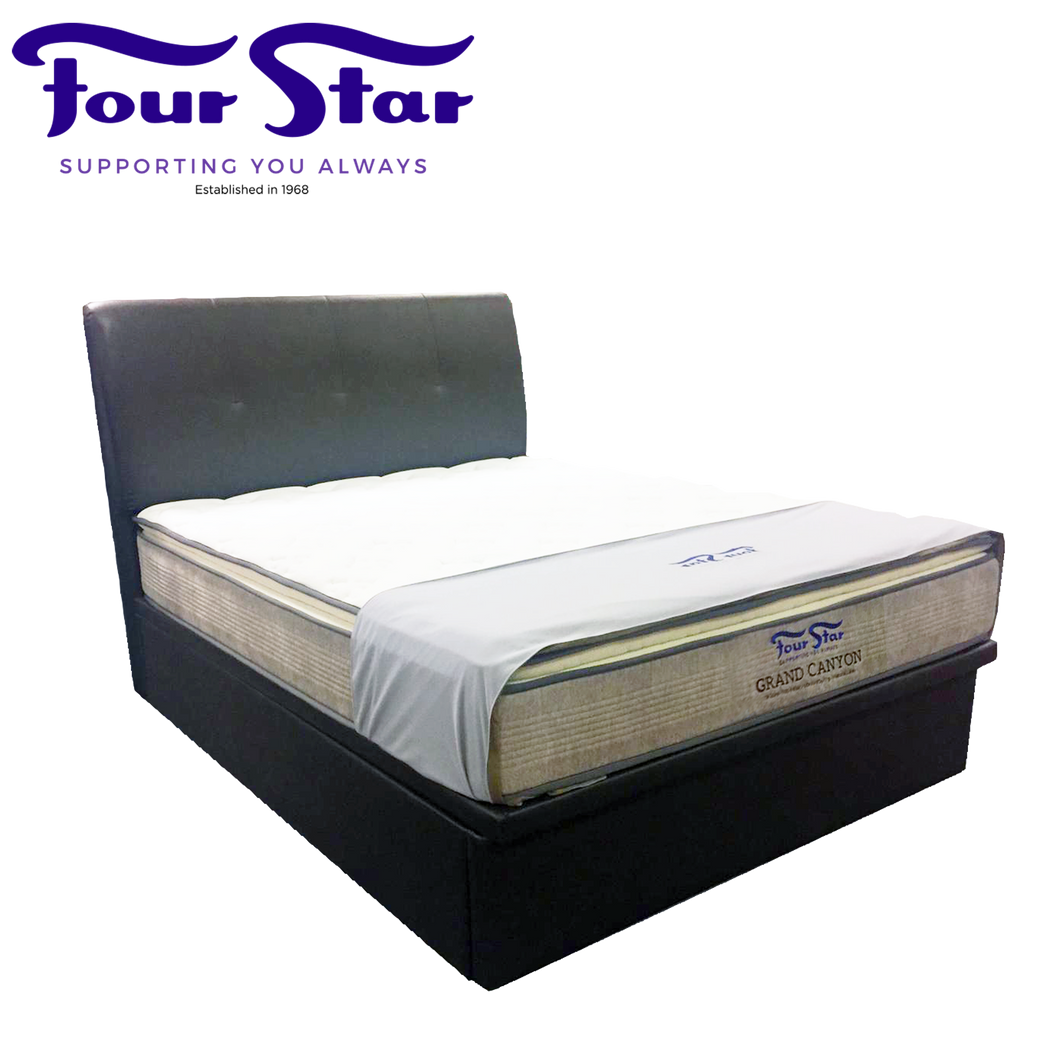 GRAND CANYON Queen Mattress with Bedframe