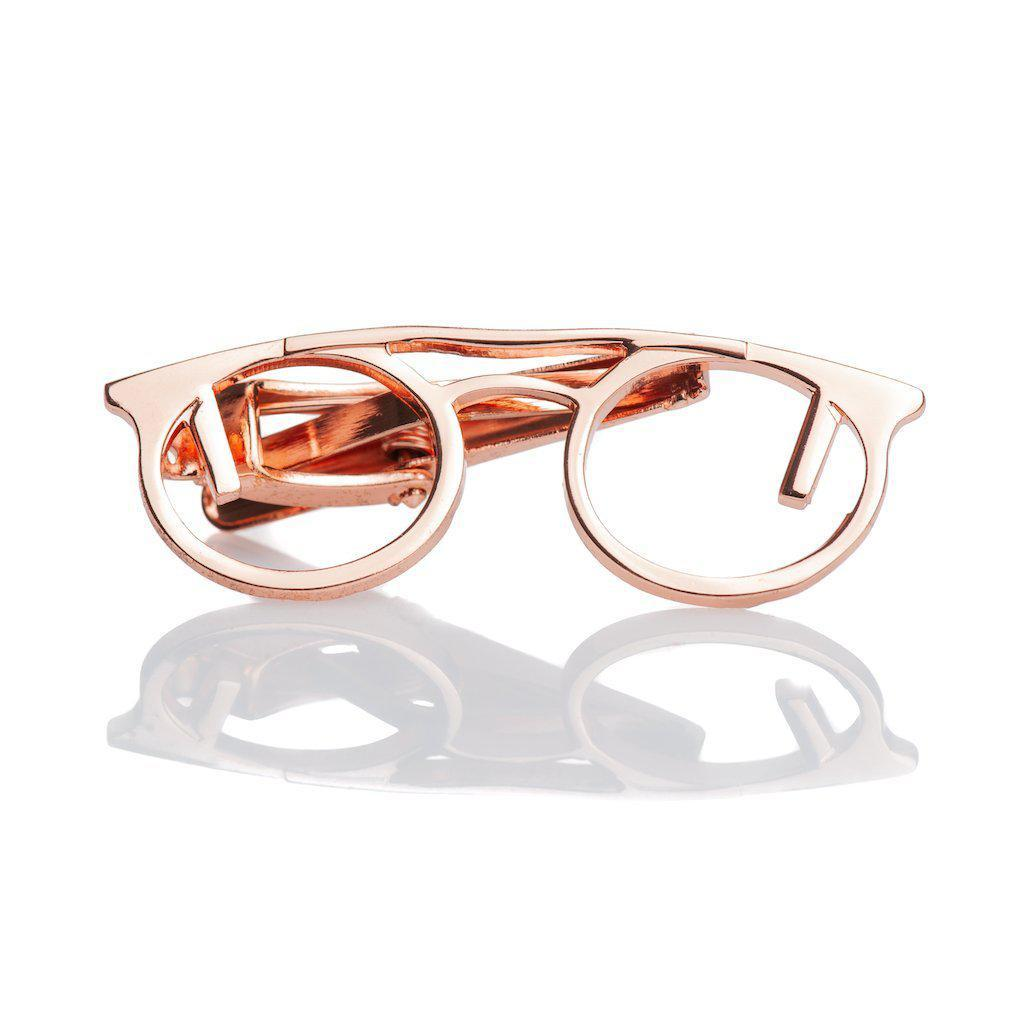 Tie bar rose googles