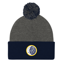 Load image into Gallery viewer, Secret Society Embroidered Beanie with Pom Pom