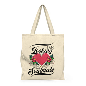 Looking For My Soulmate Tote Bag - Wild Heart