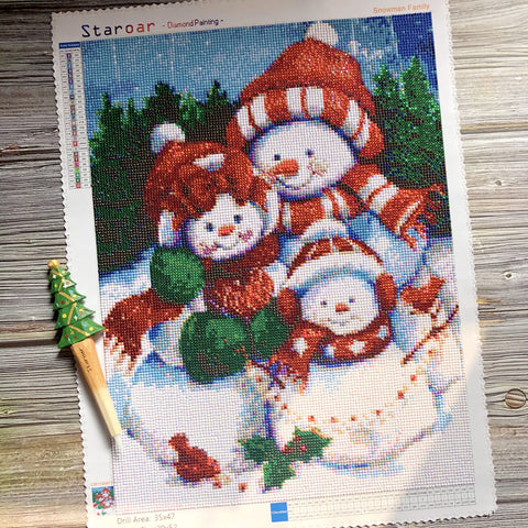staroar diamond painting Christmas snowman Black Friday Sales