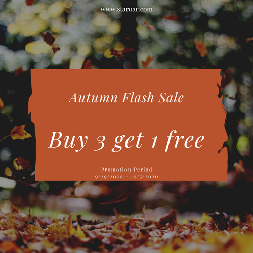 FREE Kit for Autumn Flash Sale -  Buy 3 Get 1 Free