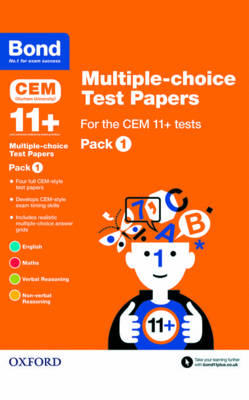 Bond 11+: Multiple-Choice Test Papers for the Cem 11+ Testspack 1