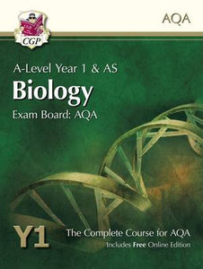 A-Level Biology for AQA: Year 1 & AS Student Book with Online Edition