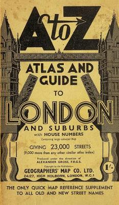 London Street Atlas (A-Z Street Maps & Atlases)