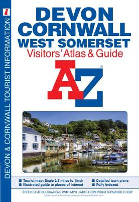 Devon, Cornwall and West Somerset Visitors' Atlas (A-Z Street Maps & Atlases)