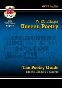 New Grade 9-1 GCSE English Literature WJEC Eduqas Unseen Poetry Guide