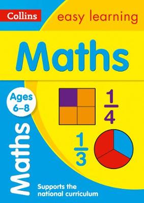 Maths Age 6-8 (Collins Easy Learning)