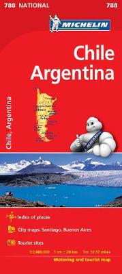Chile Argentina - Michelin National Map 788 (Michelin National Maps)