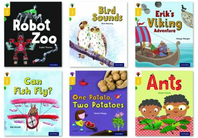 Oxford Reading Tree inFact: Oxford Level 5: Mixed Pack of 6