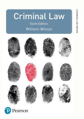 Criminal Law: Uk Edition (Longman Law Series)