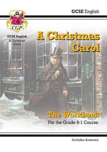 New Grade 9-1 GCSE English - A Christmas Carol Workbook (includes Answers)