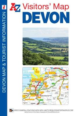 Devon Visitors Map (A-Z Visitors Map)