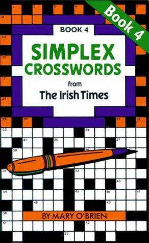 Simplex Crosswords Book 4: from The Irish Times (Crosswords)