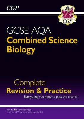 New 9-1 GCSE Combined Science: Biology AQA Higher Complete Revision & Practice with Online Edition