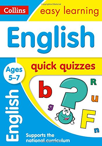 English Quick Quizzes: Ages 5-7 (Collins Easy Learning KS1)
