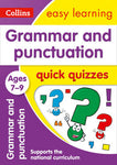 Grammar and Punctuation Quick Quizzes: Ages 7-9 (Collins Easy Learning KS2)