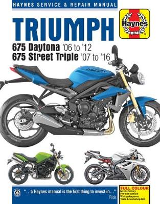 Triumph Daytona & Speed Triple, '06-'16 (Haynes Powersport)