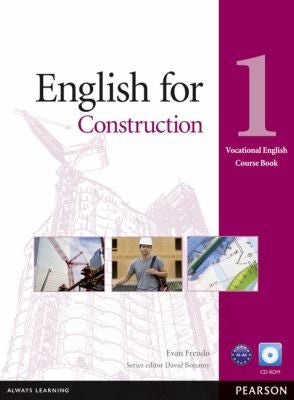 English for Construction 1 Course Book with CD-ROM (Vocational English Series) (Vocational English Course Book)