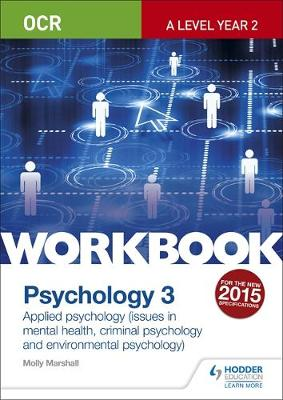 OCR Psychology for a Level Workbook 3