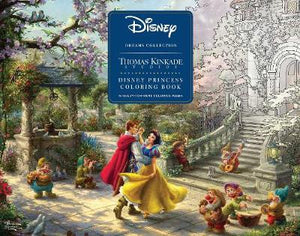 Disney Dreams Collection Thomas Kinkade Studios Disney Princess Coloring Book