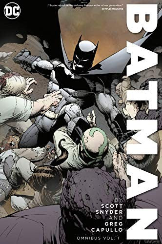 Batman by Scott Snyder and Greg Capullo Omnibus Volume 1