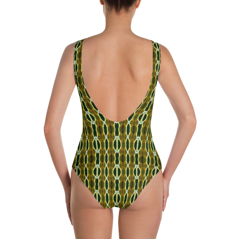 Budding One-Piece Swimsuit by Abstraction