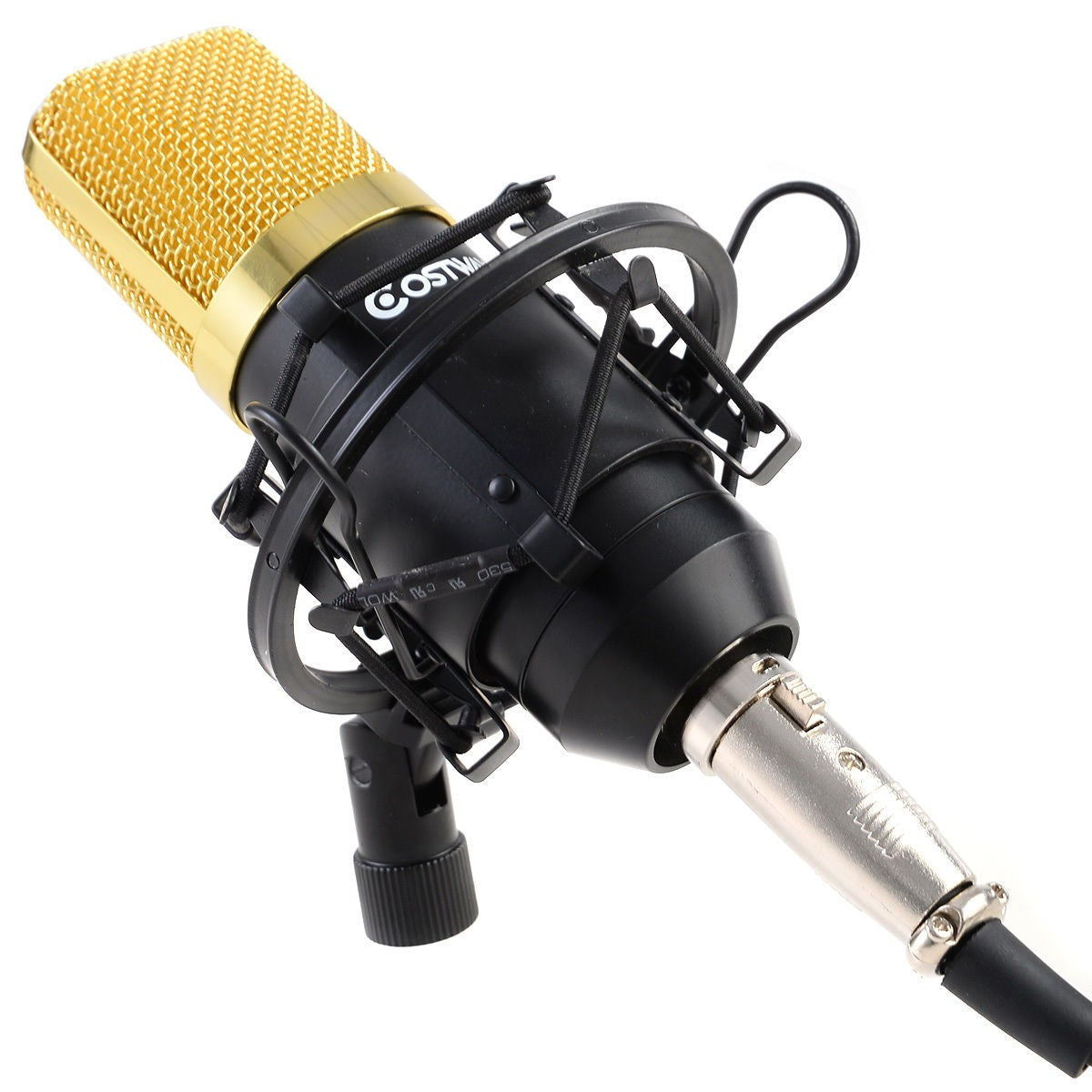 Professional Audio Condenser Microphone w/ Shock Mount