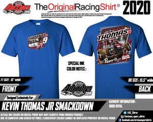 "Sprint Car ""All Pepper'd Up"" Tshirt - Royal"