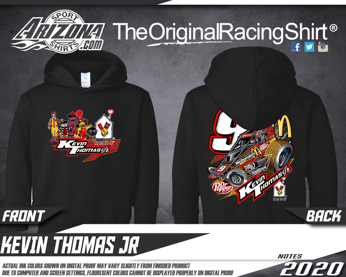 Kids - McDonalds Sprint Car Hoodie - Black
