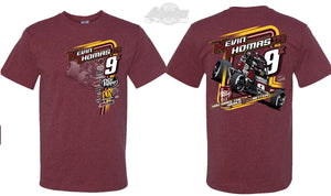 "Sprint Car ""Race Better"" Tshirt - Maroon"