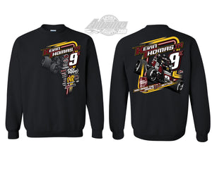 "Sprint Car ""Race Better"" Crewneck - Black"