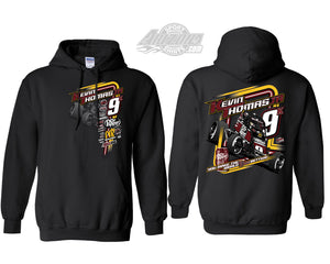 "Sprint Car ""Race Better"" Hoodie - Black"