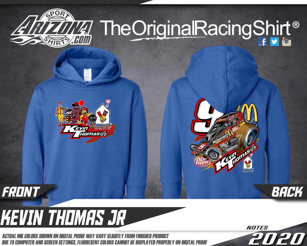 Kids - McDonalds Sprint Car Hoodie - Royal Blue