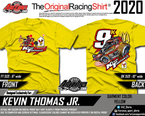 Kids - McDonalds Sprint Car Tshirt - Yellow