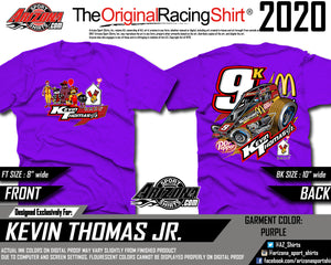 Kids - McDonalds Sprint Car Tshirt - Purple