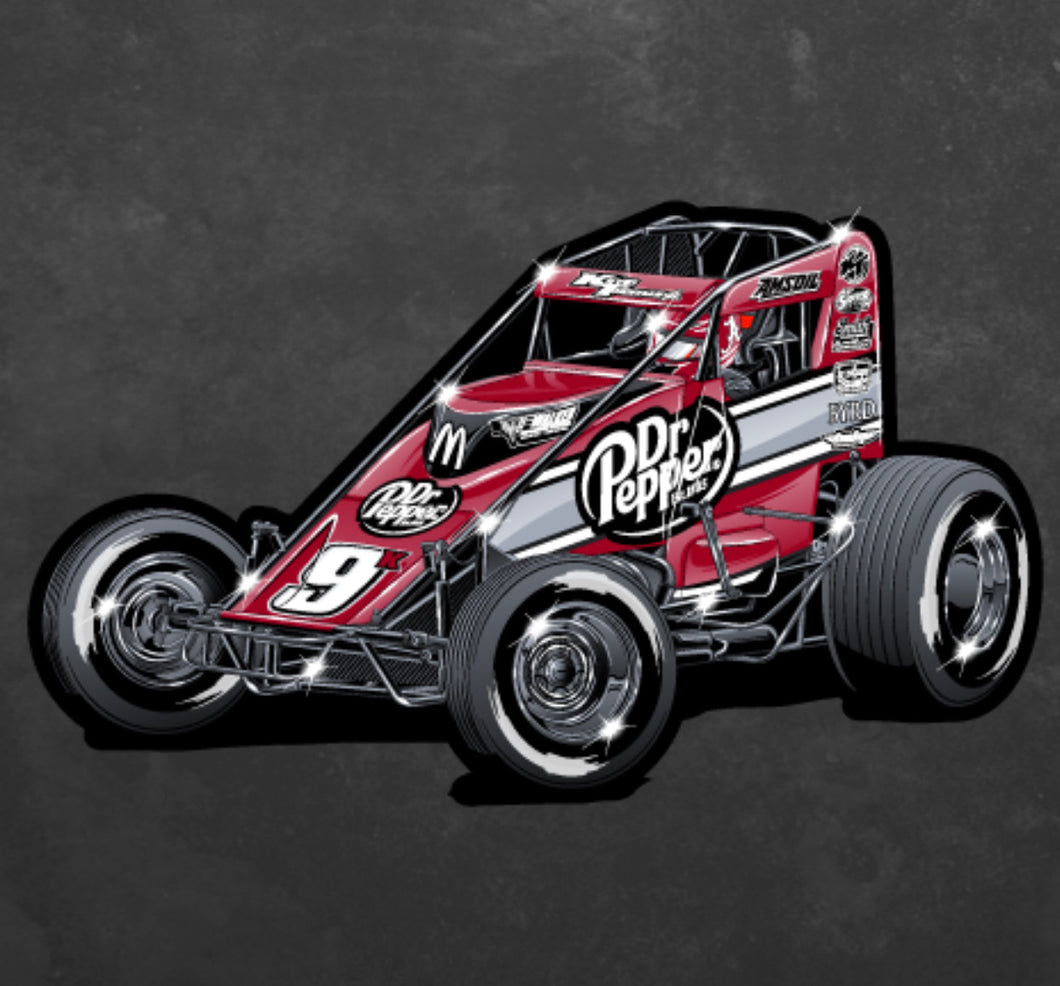 Decal - Dr Pepper Car