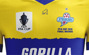 Kit Design Process for an exclusive FFA Cup Finals team.