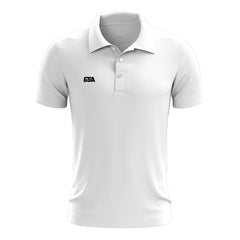 Short Sleeve Polo Shirt White
