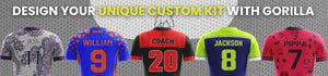 Gorilla Sports Custom Football Kit