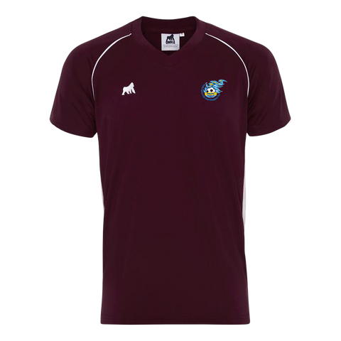 Champions Cup Tournament Jersey Maroon White