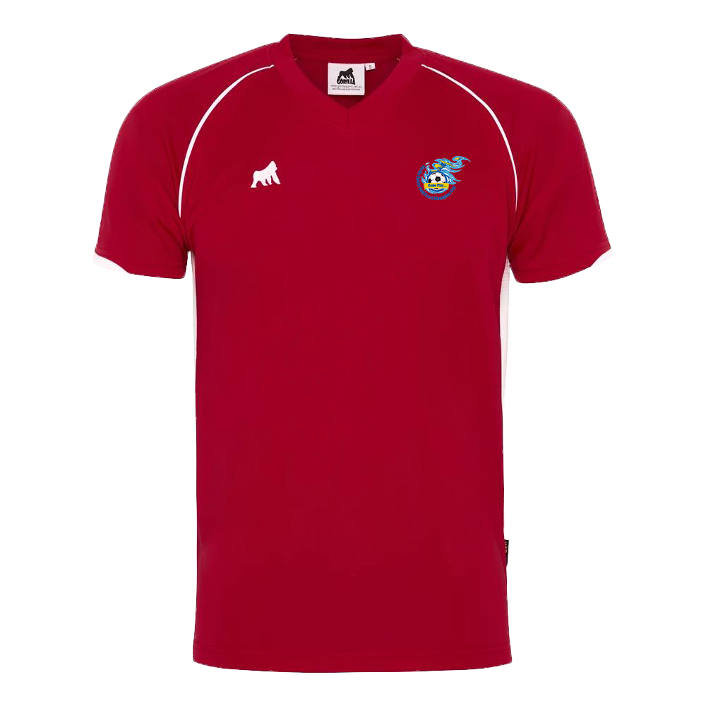 Champions Cup Tournament Jersey Red White