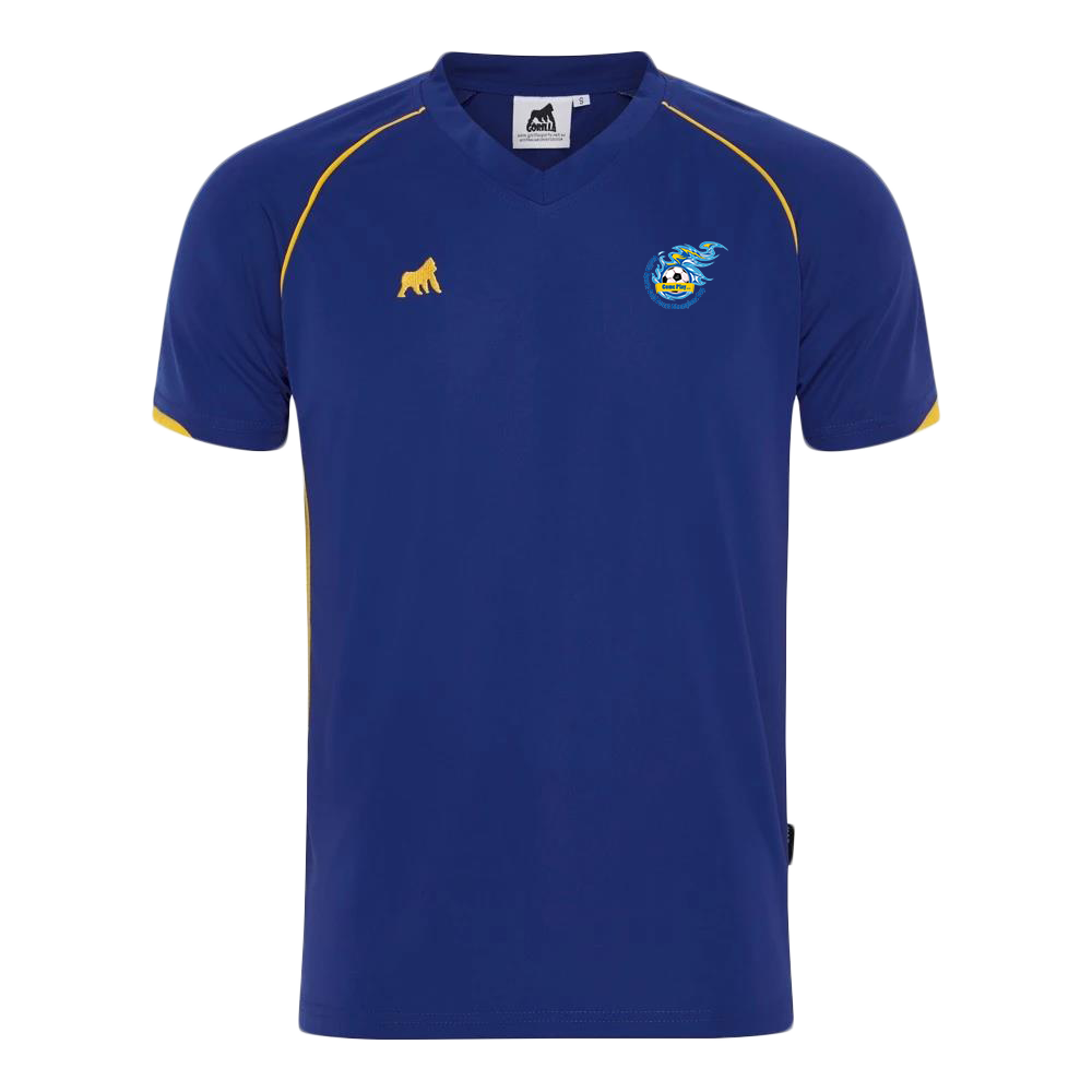 Champions Cup Tournament Jersey Royal Gold