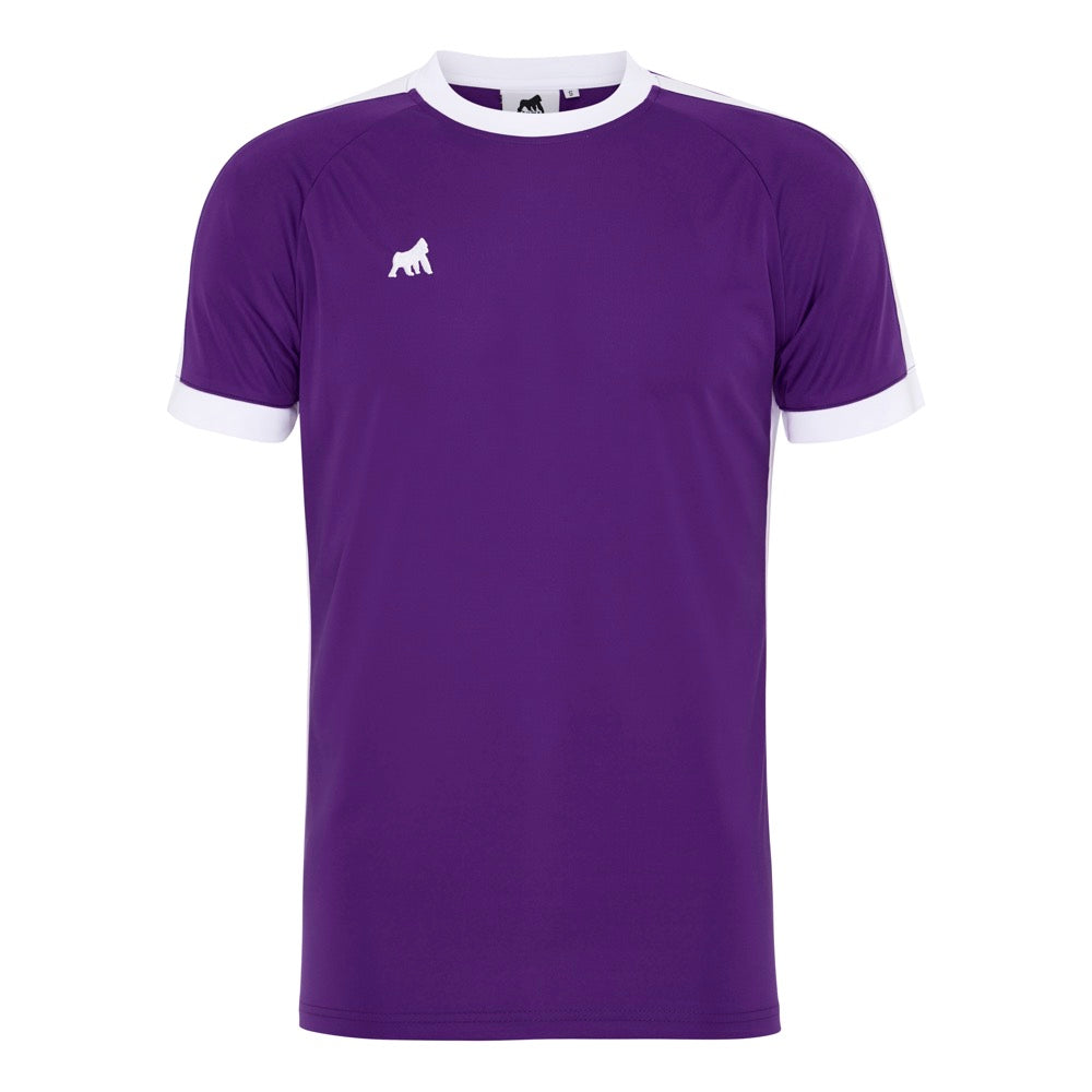Galaxy Jersey Purple / White