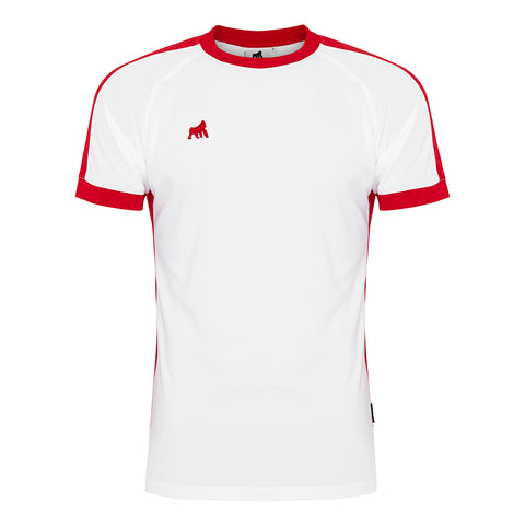 Galaxy Jersey White / Red