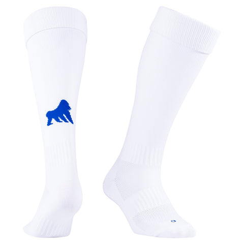 Playing Socks White / Royal